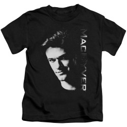 Image for MacGyver Kids T-Shirt - Face