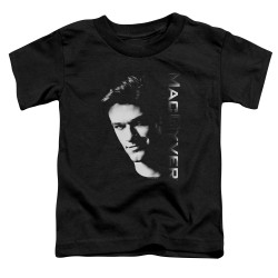 Image for MacGyver Toddler T-Shirt - Face
