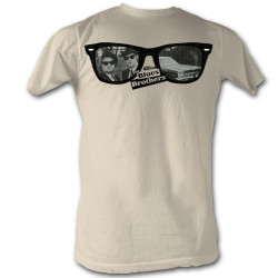 Image for The Blues Brothers T-Shirt - Glasses Reflection