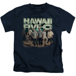 Image for Hawaii Five-0 Kids T-Shirt - Cast