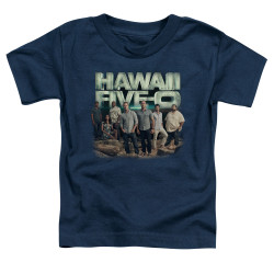 Image for Hawaii Five-0 Toddler T-Shirt - Cast