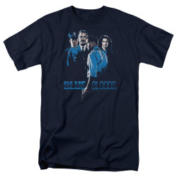 Image for Blue Bloods T-Shirt - Blue Inverted