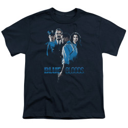 Image for Blue Bloods Youth T-Shirt - Blue Inverted