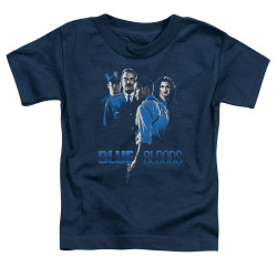 Image for Blue Bloods Toddler T-Shirt - Blue Inverted