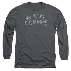 Image for American Vandal Long Sleeve T-Shirt - Turd Burgler