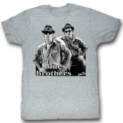 Image for The Blues Brothers T-Shirt - Black and Blue