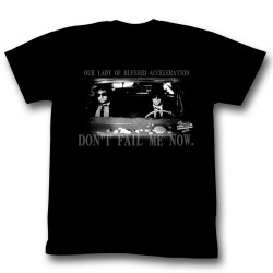 Image for The Blues Brothers T-Shirt - Our Lady of Blessed Acceleration