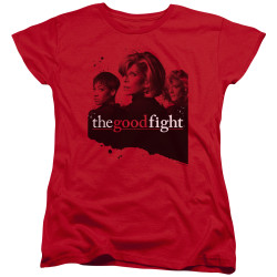Image for The Good Fight Woman's T-Shirt - Diane Lucca Maia