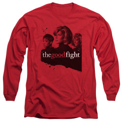 Image for The Good Fight Long Sleeve T-Shirt - Diane Lucca Maia