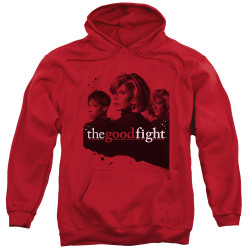 Image for The Good Fight Hoodie - Diane Lucca Maia