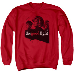 Image for The Good Fight Crewneck - Diane Lucca Maia