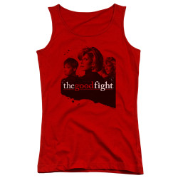 Image for The Good Fight Girls Tank Top - Diane Lucca Maia