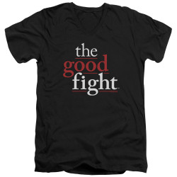 Image for The Good Fight T-Shirt - V Neck - Logo