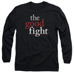 Image for The Good Fight Long Sleeve T-Shirt - Logo
