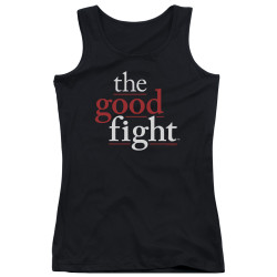 Image for The Good Fight Girls Tank Top - Logo