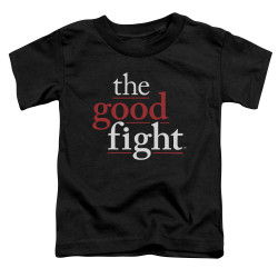 Image for The Good Fight Toddler T-Shirt - Logo