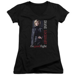 Image for The Good Fight Girls V Neck T-Shirt - Diane