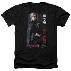Image for The Good Fight Heather T-Shirt - Diane