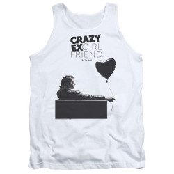 Image for Crazy Ex-Girlfriend Tank Top - Crazy Mad