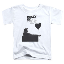Image for Crazy Ex-Girlfriend Toddler T-Shirt - Crazy Mad