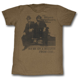 Image for The Blues Brothers T-Shirt - Mission From God...
