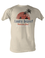 Image for Jaws T-Shirt - Amity Island Welcomes You