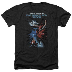 Image for Star Trek Heather T-Shirt - The Search For Spock