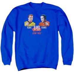 Image for Star Trek Crewneck - TWOK Kirk vs Khan