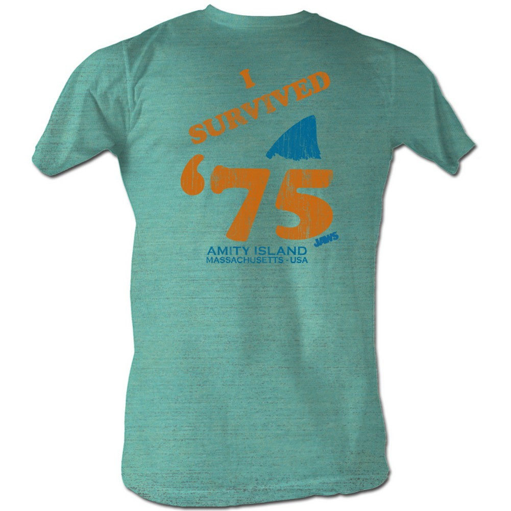 The gallery for quint jaws t shirt for Jawbone fishing shirts