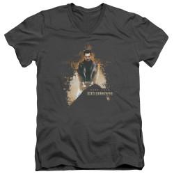 Image for Star Trek Into Darkness T-Shirt - V Neck - Dark Villain