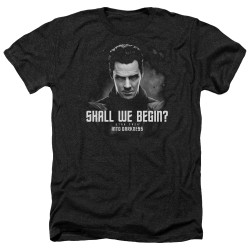 Image for Star Trek Into Darkness Heather T-Shirt - Shall We Begin