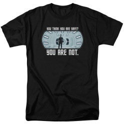 Image for Star Trek Into Darkness T-Shirt - You Are Not Safe