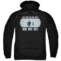 Image for Star Trek Into Darkness Hoodie - You Are Not Safe