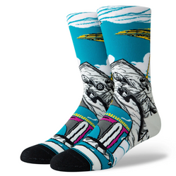 Image for Stance Socks - Star Wars Warped Boba Fett