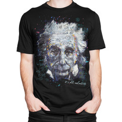 Image for Get Down Art Einstein It's All Relative T-Shirt