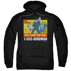 Image for Harvey Birdman Attorney at Law Hoodie - Law Ad