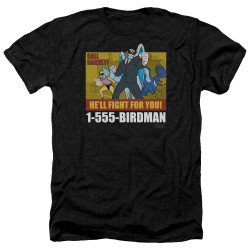 Image for Harvey Birdman Attorney at Law Heather T-Shirt - Law Ad