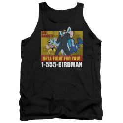Image for Harvey Birdman Attorney at Law Tank Top - Law Ad
