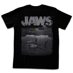Image for Jaws T-Shirt - Shark Boat
