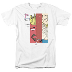 Image for Aqua Teen Hunger Force T-Shirt - Group Bars