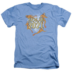 Image for Sealab 2021 Heather T-Shirt - Suit Up