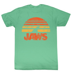 Image for Jaws T-Shirt - Shark Sun