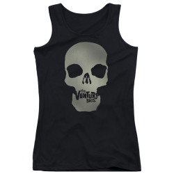 Image for The Venture Bros. Girls Tank Top - Skull Logo