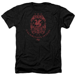 Image for The Venture Bros. Heather T-Shirt - The Guild of Calamitous Intent Crest