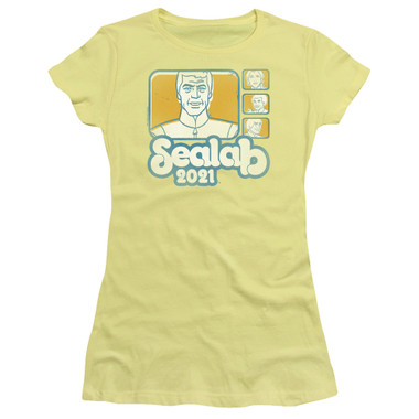 Image for Sealab 2021 Girls T-Shirt - Title Card