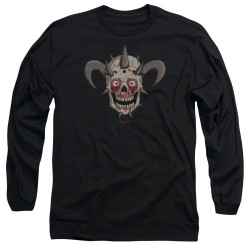 Image for Metalocalypse Long Sleeve Shirt - Facebones