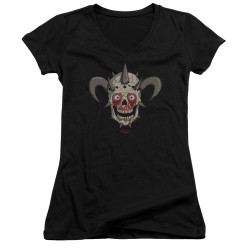 Image for Metalocalypse Girls V Neck - Facebones
