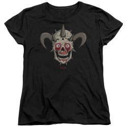 Image for Metalocalypse Womans T-Shirt - Facebones