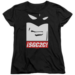 Image for Space Ghost Coast to Coast Womans T-Shirt - SGC2C