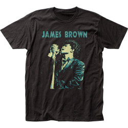 Image for James Brown Singing T-Shirt